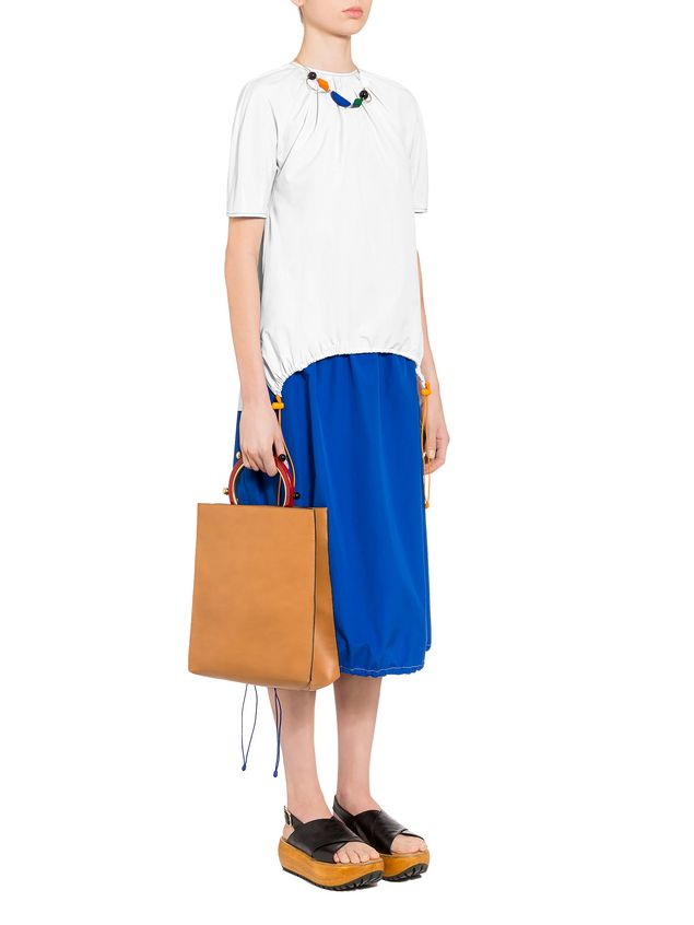 Marni Poplin crew neck shirt Woman - 4