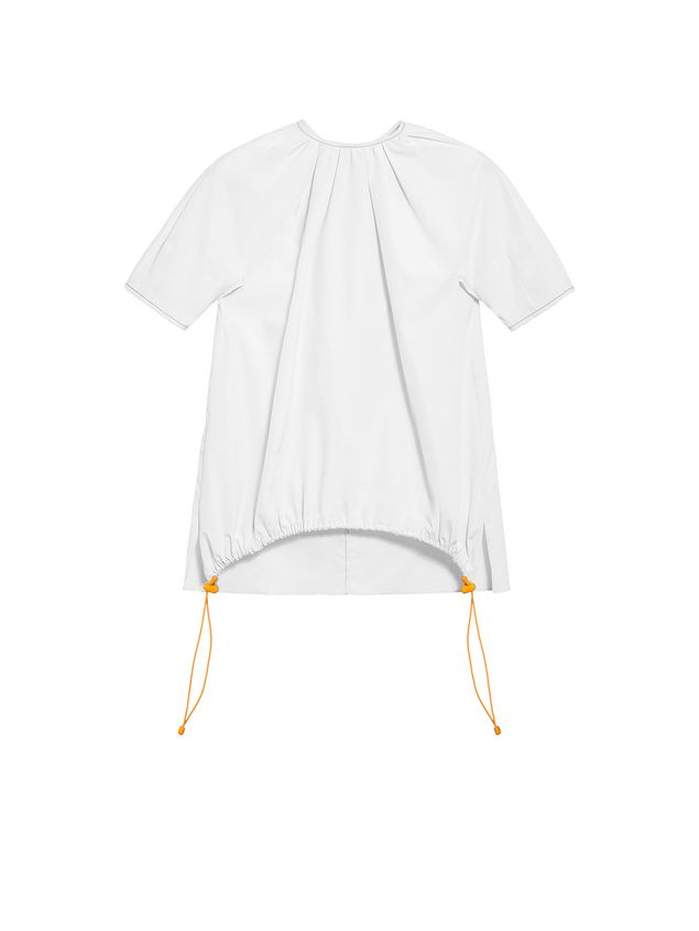 Marni Poplin crew neck shirt Woman - 2