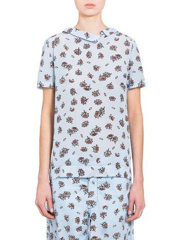 Marni Silk shirt with Frank Navin Petals print Woman