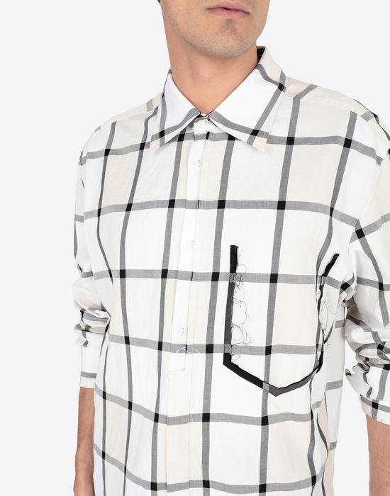 MAISON MARGIELA Décortiqué pocket check shirt Long sleeve shirt [*** pickupInStoreShippingNotGuaranteed_info ***] a
