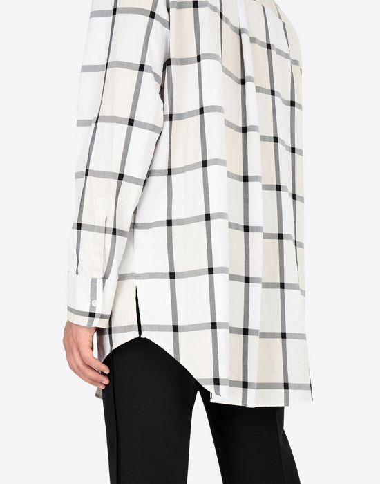 MAISON MARGIELA Décortiqué pocket check shirt Long sleeve shirt [*** pickupInStoreShippingNotGuaranteed_info ***] b