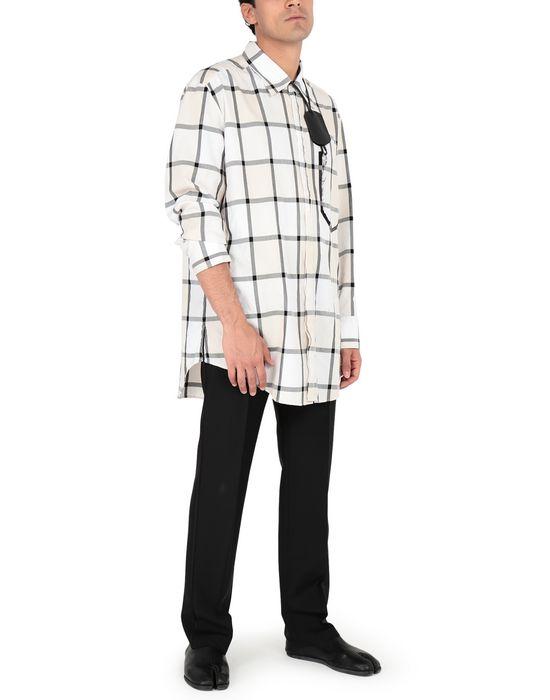 MAISON MARGIELA Décortiqué pocket check shirt Long sleeve shirt [*** pickupInStoreShippingNotGuaranteed_info ***] d