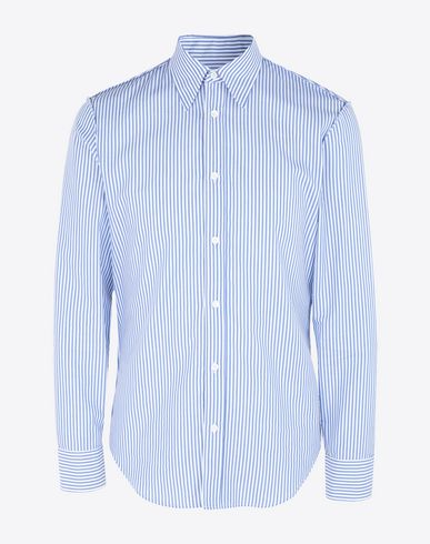 MAISON MARGIELA Long sleeve shirt Man Slim fit poplin shirt f