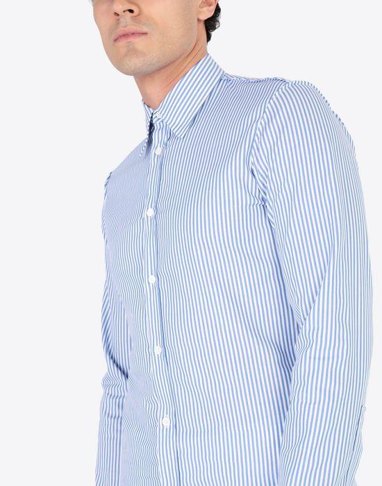 MAISON MARGIELA Slim fit poplin shirt Long sleeve shirt Man a