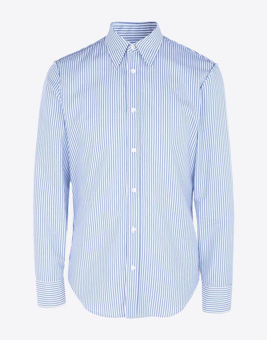 MAISON MARGIELA Slim fit poplin shirt Long sleeve shirt Man f
