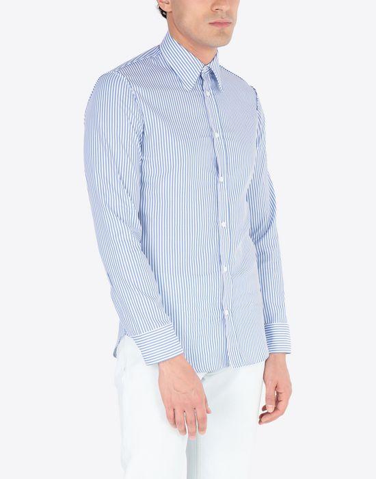 MAISON MARGIELA Slim fit poplin shirt Long sleeve shirt [*** pickupInStoreShippingNotGuaranteed_info ***] r
