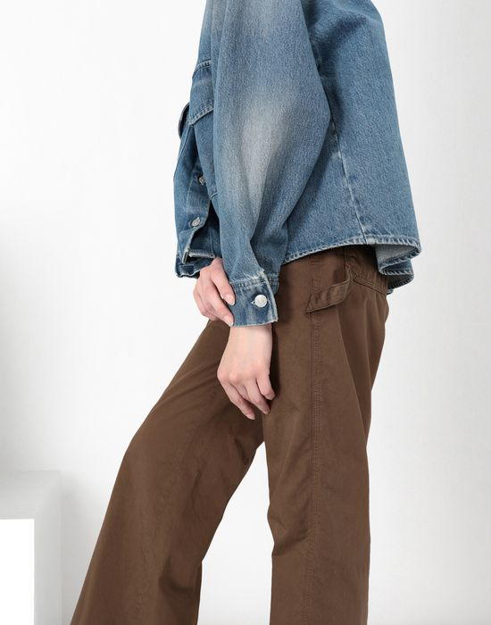 MM6 MAISON MARGIELA Oversized denim shirt Denim shirt [*** pickupInStoreShipping_info ***] a