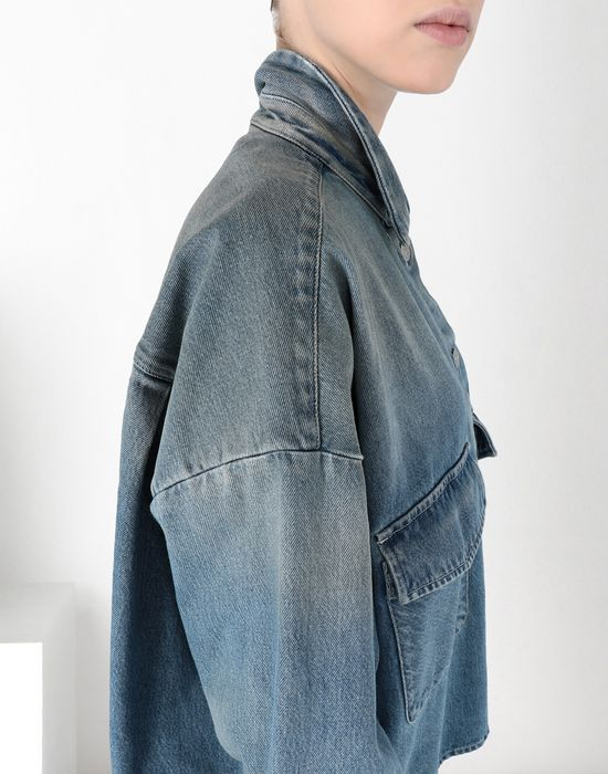 MM6 MAISON MARGIELA Oversized denim shirt Denim shirt [*** pickupInStoreShipping_info ***] e