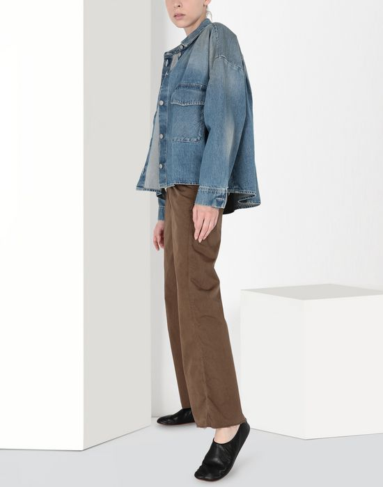 MM6 MAISON MARGIELA Oversized denim shirt Denim shirt [*** pickupInStoreShipping_info ***] r