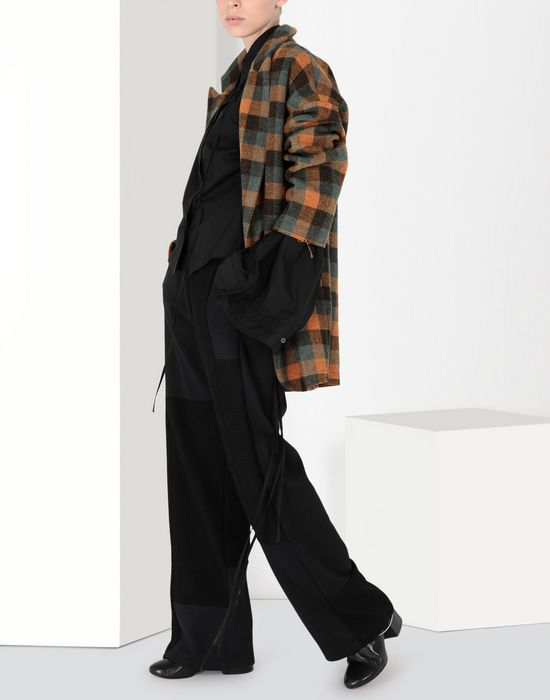 MM6 MAISON MARGIELA Parachute poplin tie shirt Long sleeve shirt [*** pickupInStoreShipping_info ***] r