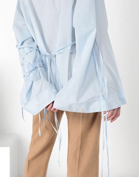 MM6 MAISON MARGIELA Parachute poplin tie shirt Long sleeve shirt [*** pickupInStoreShipping_info ***] a