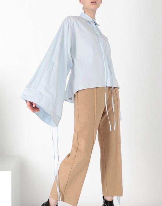 MM6 MAISON MARGIELA Parachute poplin tie shirt Long sleeve shirt [*** pickupInStoreShipping_info ***] e