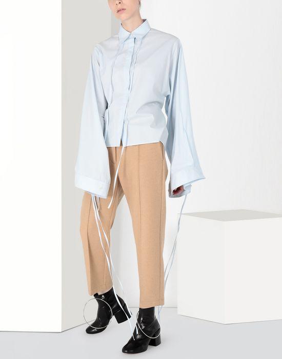 MM6 MAISON MARGIELA Parachute poplin tie shirt Long sleeve shirt [*** pickupInStoreShipping_info ***] r