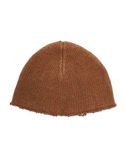 Marni Cap in felted Stockinette virgin wool Man