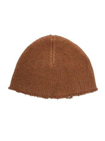 Marni Cap in felted Stockinette virgin wool Man