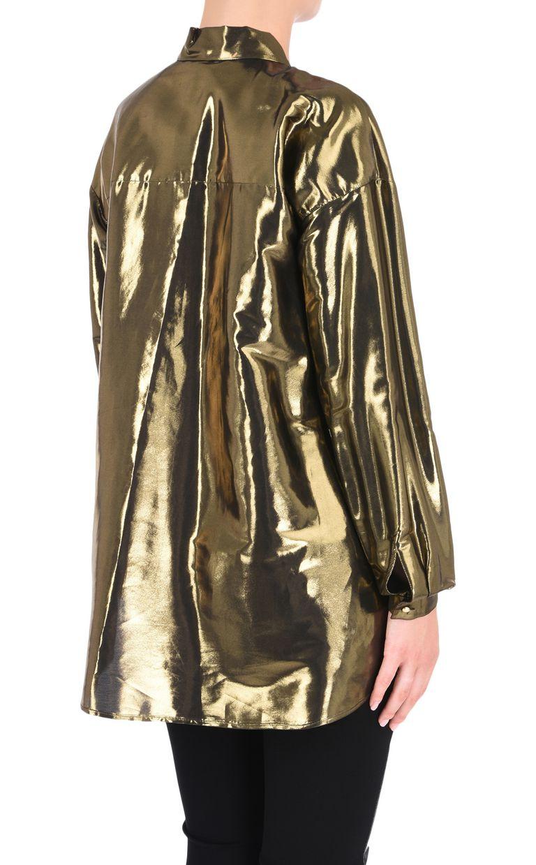 JUST CAVALLI Lurex-finish shirt Long sleeve shirt Woman d