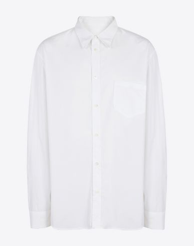 MAISON MARGIELA Long sleeve shirt Man Poplin shirt f