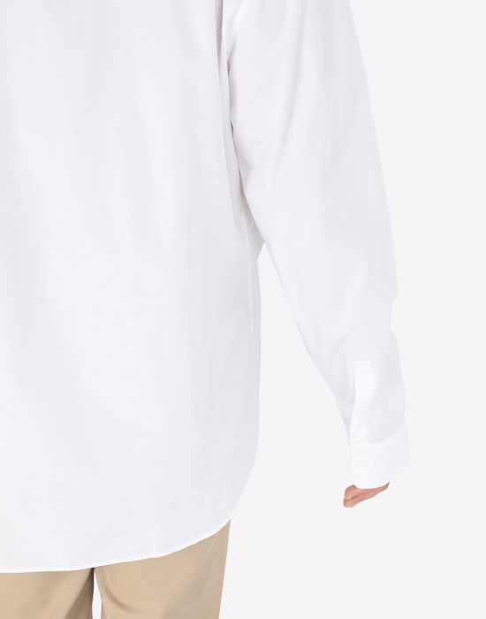 MAISON MARGIELA Poplin shirt Long sleeve shirt [*** pickupInStoreShippingNotGuaranteed_info ***] b