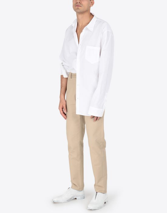 MAISON MARGIELA Poplin shirt Long sleeve shirt [*** pickupInStoreShippingNotGuaranteed_info ***] d