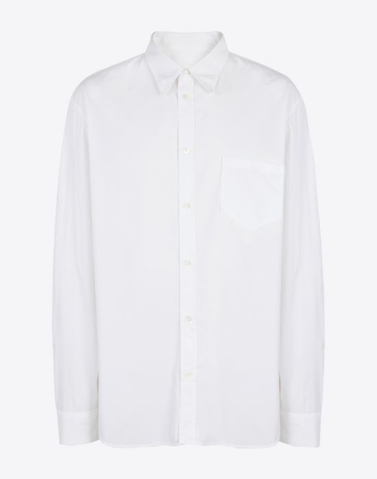 MAISON MARGIELA Poplin shirt Long sleeve shirt [*** pickupInStoreShippingNotGuaranteed_info ***] f