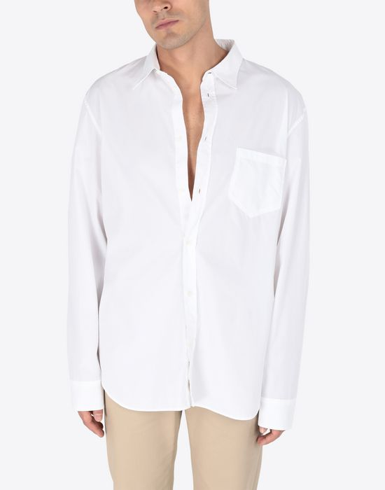 MAISON MARGIELA Poplin shirt Long sleeve shirt [*** pickupInStoreShippingNotGuaranteed_info ***] r