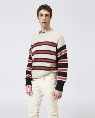RUSSELLH striped sweater