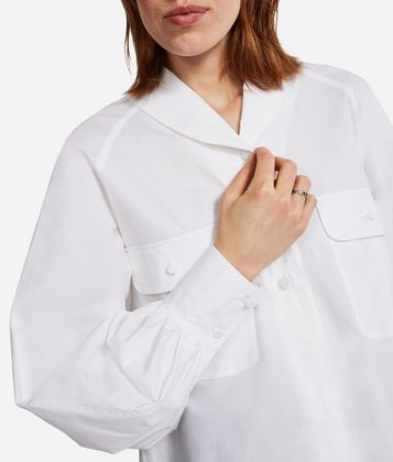 KARL LAGERFELD KARL SHAWL COLLAR SHIRT