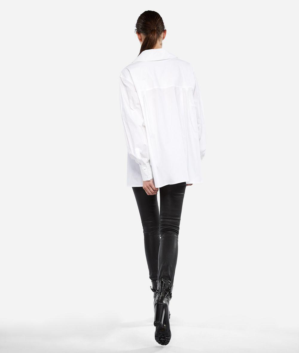 KARL LAGERFELD KARL Poplin A-line Shirt Blouse Woman d