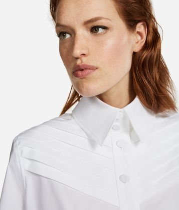 KARL LAGERFELD KARL FITTED PLEATED SHIRT
