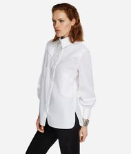 KARL LAGERFELD KARL Fitted Pleated Shirt 9_f