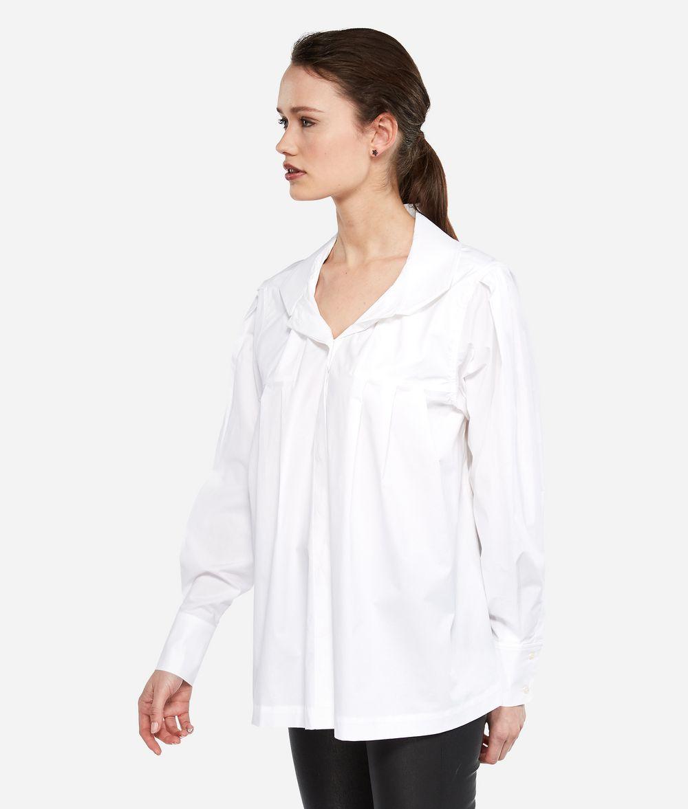 KARL LAGERFELD Рубашка KARL из поплина с воротником-бабочкой Блузка Для Женщин d
