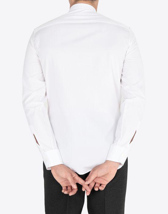 MAISON MARGIELA Slim fit cotton poplin shirt Long sleeve shirt Man e