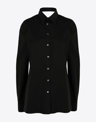 MAISON MARGIELA Long sleeve shirt [*** pickupInStoreShipping_info ***] Décortiqué' poplin shirt f
