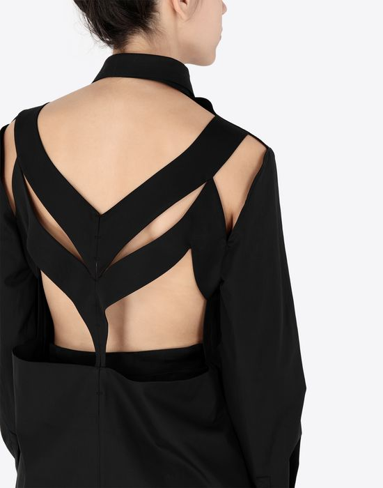 MAISON MARGIELA Décortiqué' poplin shirt Long sleeve shirt [*** pickupInStoreShipping_info ***] b