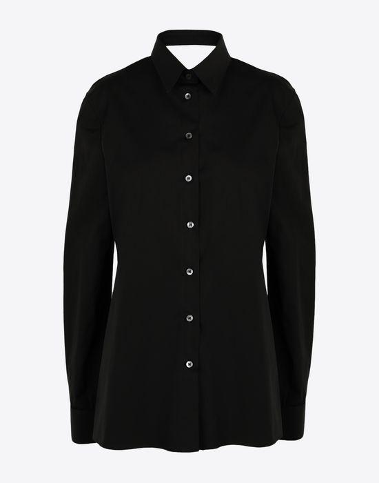 MAISON MARGIELA Décortiqué' poplin shirt Long sleeve shirt [*** pickupInStoreShipping_info ***] f