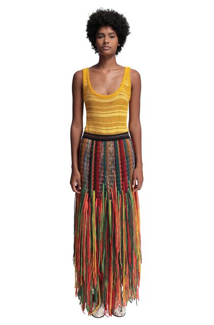 MISSONI Vest Yellow Woman - Back