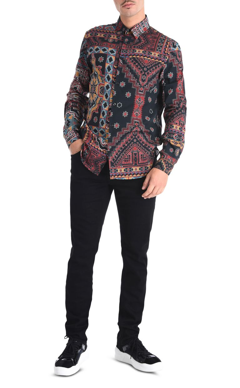 JUST CAVALLI Berber Dream shirt Long sleeve shirt [*** pickupInStoreShippingNotGuaranteed_info ***] r