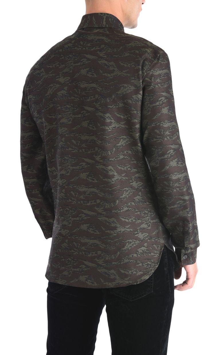 JUST CAVALLI Camouflage shirt Long sleeve shirt [*** pickupInStoreShippingNotGuaranteed_info ***] d