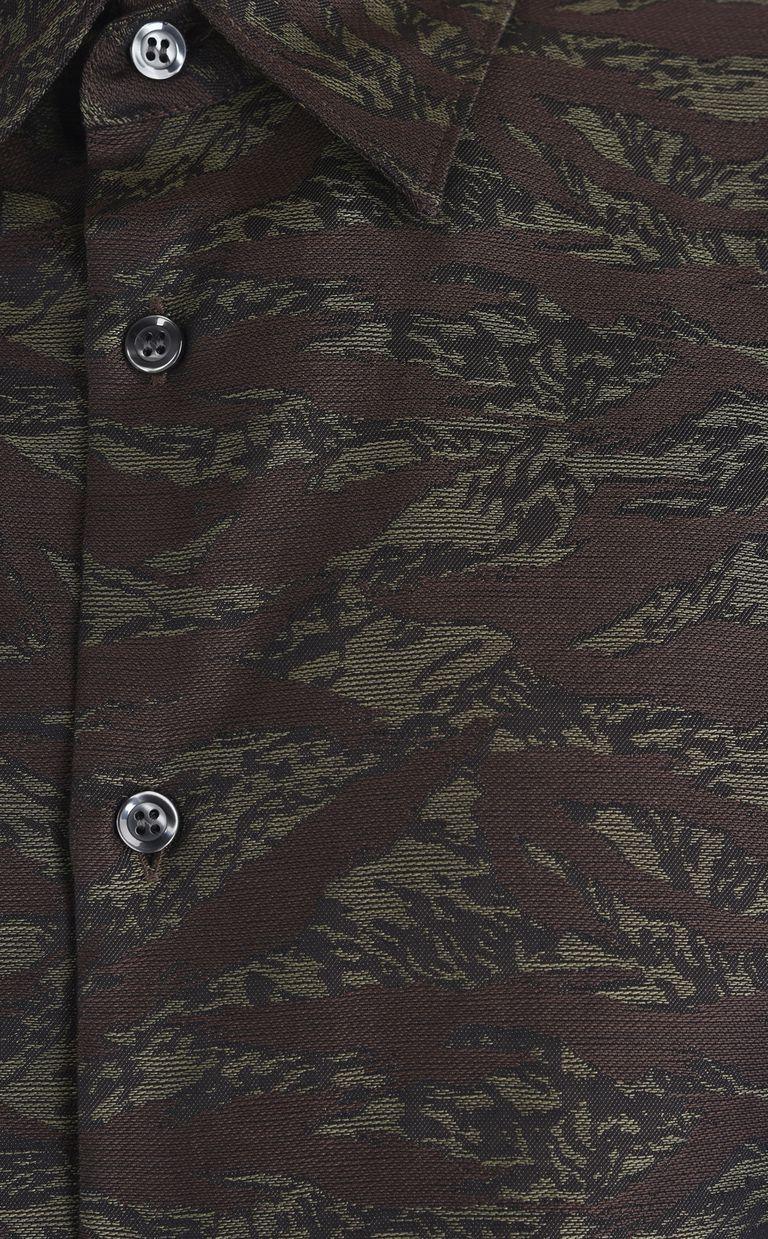 JUST CAVALLI Camouflage shirt Long sleeve shirt [*** pickupInStoreShippingNotGuaranteed_info ***] e