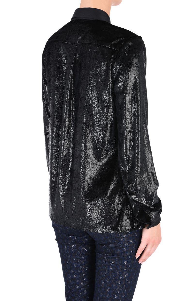 JUST CAVALLI Lurex shirt Long sleeve shirt [*** pickupInStoreShipping_info ***] d