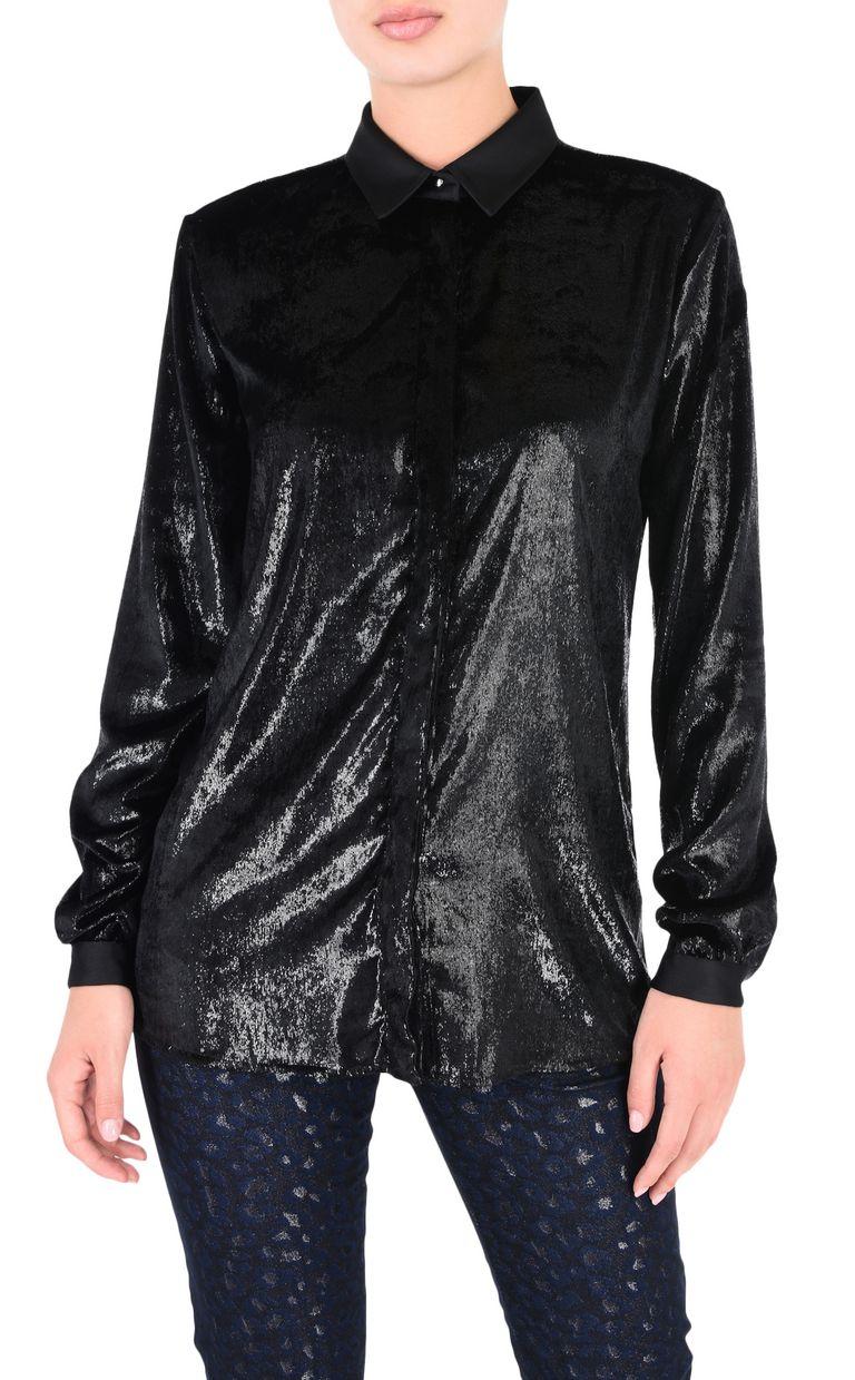 JUST CAVALLI Lurex shirt Long sleeve shirt [*** pickupInStoreShipping_info ***] f