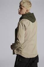 DSQUARED2 Multi-Pockets Cotton Military Shirt Shirt Man