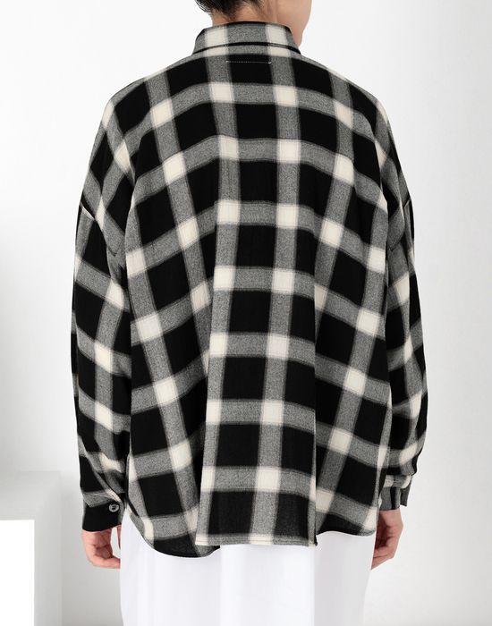 MM6 MAISON MARGIELA Checked shirt  Long sleeve shirt [*** pickupInStoreShipping_info ***] d