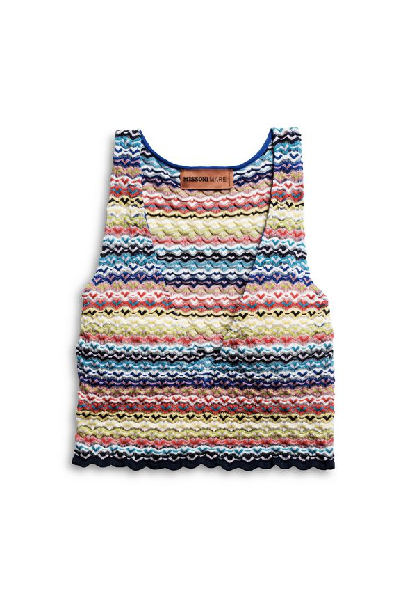 MISSONI TOP BEACHWEAR Woman, Product view without model