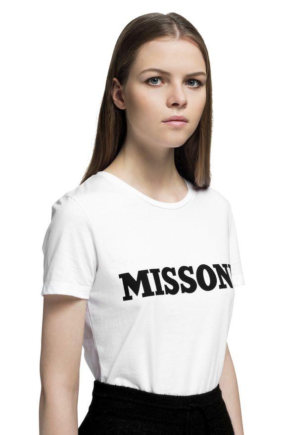 MISSONI Camiseta Mujer, Detalle