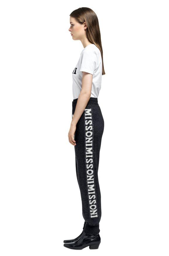 MISSONI Camiseta Mujer, Vista lateral