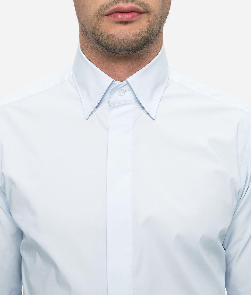KARL LAGERFELD Poplin Shirt Shirt Man d