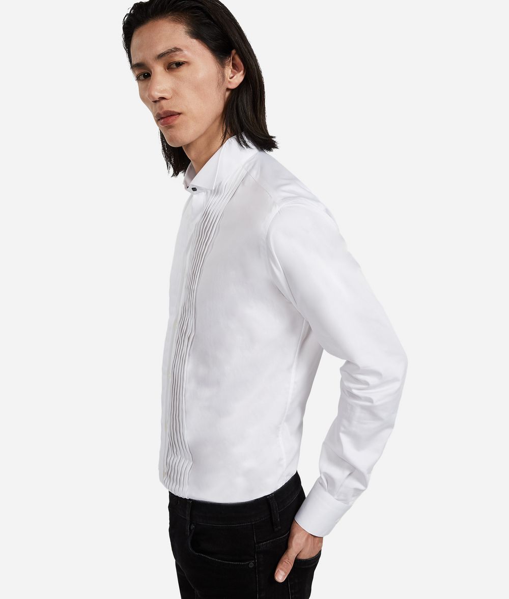 KARL LAGERFELD Tuxedo Shirt Shirt Man d