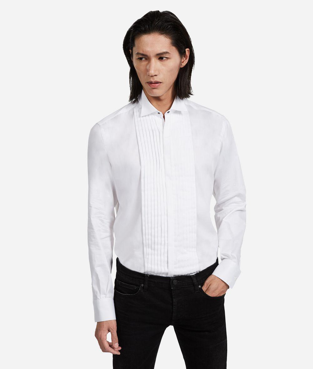 KARL LAGERFELD Tuxedo Shirt Shirt Man f