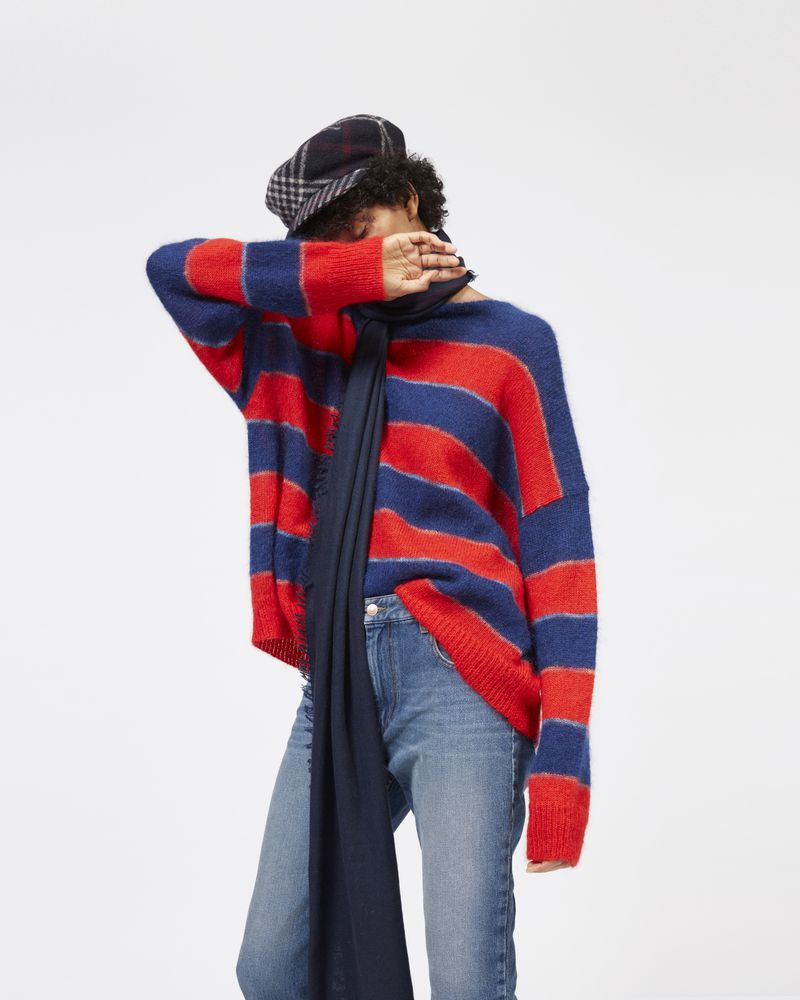 REECE striped mohair sweater ISABEL MARANT ÉTOILE